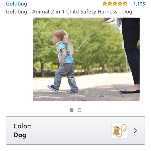 Child s safety harness by Goldbug a55eea0b713a